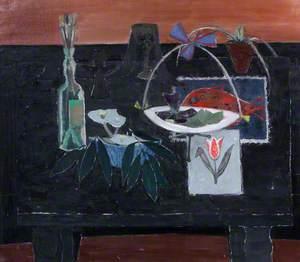 Still Life Black Table