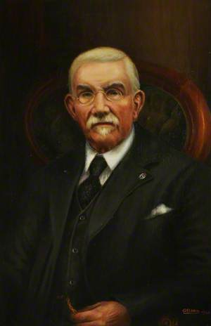 Mr Daniel Scott, President of the Amalgamated Society of Dyers and Bleachers (1919–1922)