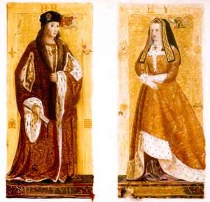 Preparatory Sketches of Henry VII and Elizabeth of York