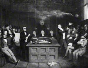John Bright and W. A. Mackinnon in the Debates on Franchise Reform
