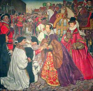 The Entrance of Mary I with Princess Elizabeth into London, 1553