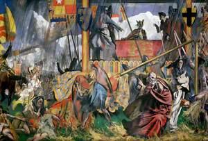 King John Assents to the Magna Carta, 1215
