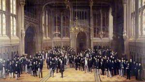 Lobby of the House of Commons, 1872–1873