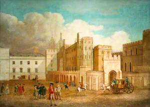 Old Palace Yard, c.1760