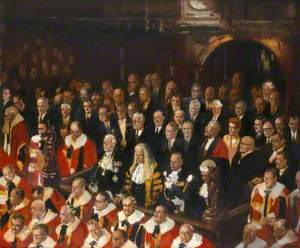 State Opening of Parliament, House of Lords, 1960