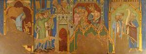 Reconstruction of Medieval Mural Painting, Story of Hezekiah