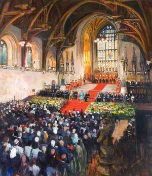 Opening of I. P. U. Centenary Conference in Westminster Hall, 1989