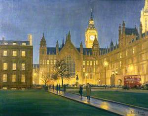 Palace of Westminster from Old Palace Yard