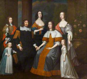 Speaker William Lenthall (1591–1662), and His Family