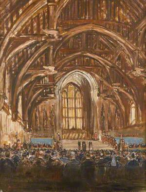 Reception of the President of France in Westminster Hall, 23 March 1939