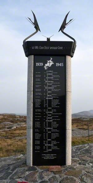 Barra and Vatersay War Memorial