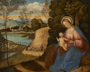 Virgin and Child (Rest on the Flight into Egypt)