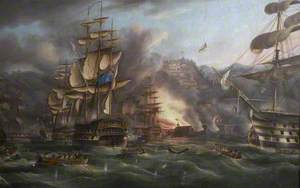 The Bombardment of Algiers, 27 August 1816