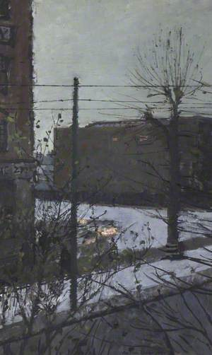 Hammersmith under Snow