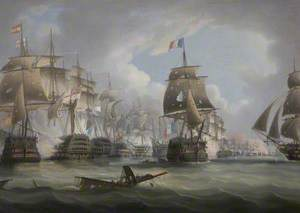 Battle of Trafalgar, 21 October 1805
