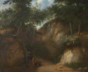 Landscape with Two Artists