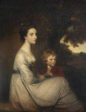 Jemima, Marchioness Cornwallis and Her Son