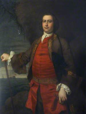 Captain Hugh Bonfoy (c.1720–1782)