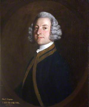 Captain the Honourable John Hamilton (1714–1755)