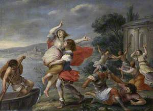 Helen Carried Off by Theseus