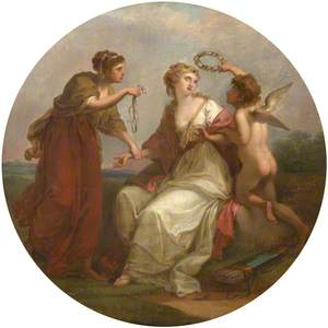 Beauty Tempted by Love, Counselled by Prudence