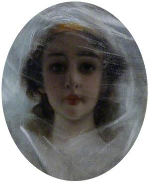 Girl in a Pink Veil