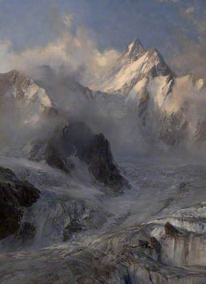 Glacier de Saleinaz