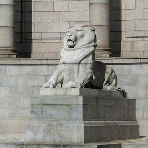 War Memorial Lion