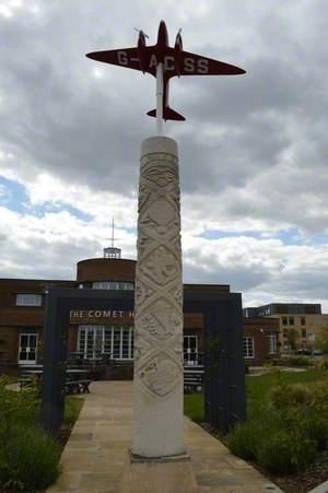 Comet Racer (pillar)