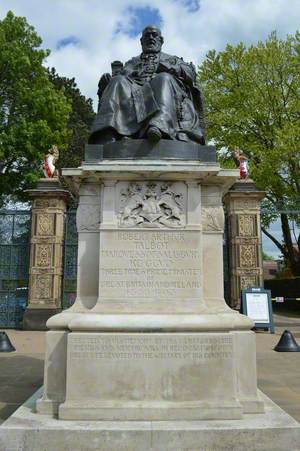 Robert Arthur Talbot Gascoyne-Cecil (1830–1903), 3rd Marquess of Salisbury