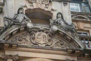 Pediment Figures and Decorative Carving
