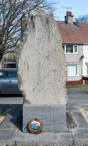 Daniel Owen Commemorative Stone