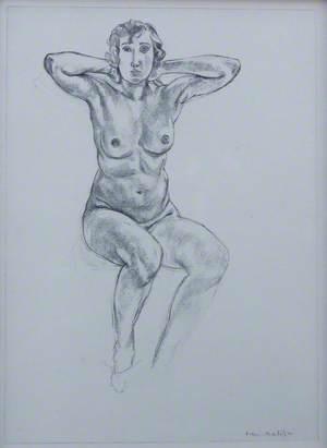 Portrait of a Woman, Planche XLI 'Cinquante dessins', 1920