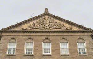 Carved Pediments