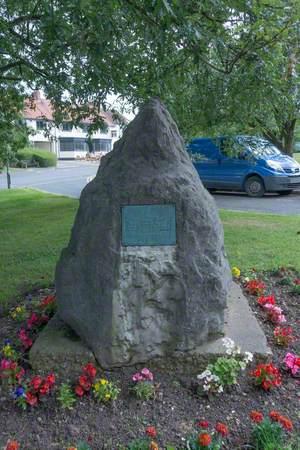 Queen Victoria (1819–1901) Jubilee Stone