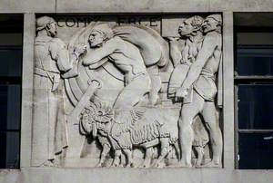 Six Allegorical Relief Panels