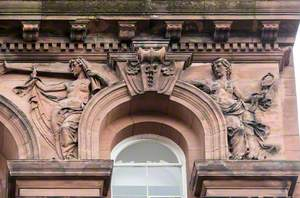 Allegorical Figures and Associated Carvings