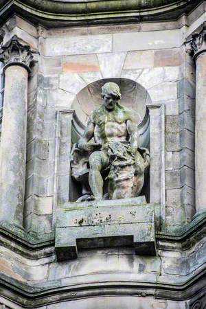 Prudence Strangling Want and Associated Carving