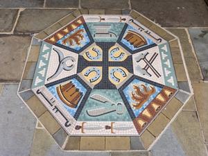 Blacksmith Trade Mosaic (St Johns)