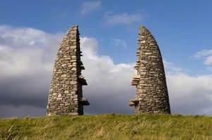 Aiginis Farm Raiders Monument: Cuimhneachain nan Gaisgeach (Land Struggle Cairn)
