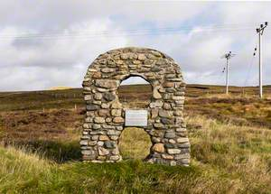 '8' Cairn Commemorating the Settlement of Deanston