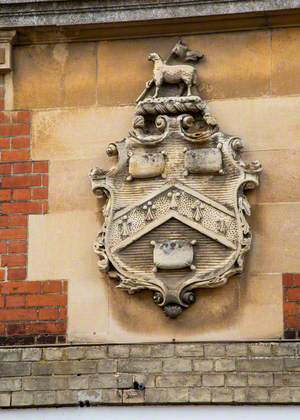 Coat of Arms on Ex-Town Hall