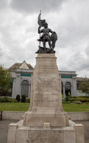 Saint George and the Dragon War Memorial