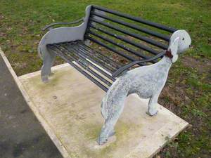 Bedlington Terrier Bench