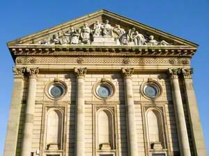 Town Hall Tympanum