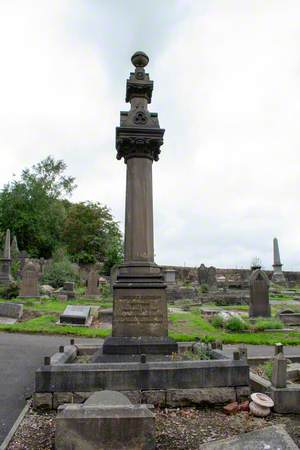 Memorial to Lawrence Earnshaw (1707–1767)