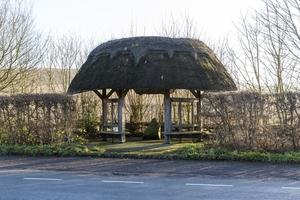 Milennium Sundial and Bus Shelter