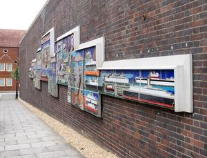 Hamtun Street Mural