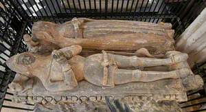 Sir Thomas Hungerford (c.1327–1397) and Lady Joan Hungerford (d. 1412)*