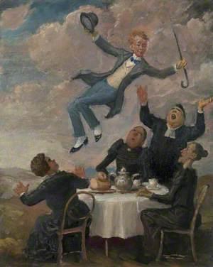 William Orpen Levitating